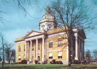 Image of old courthouse before 1967
